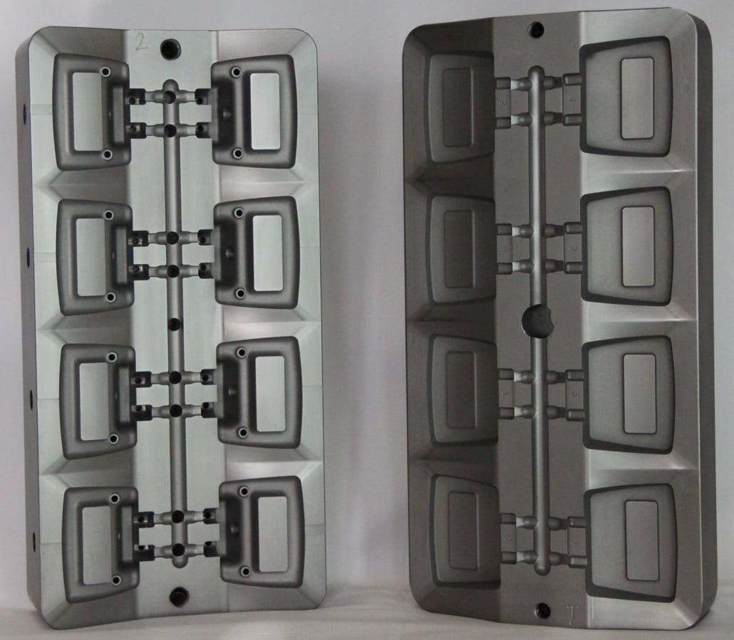 금형 부품 (플라스틱 금형) PVD 코팅