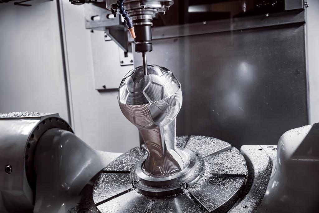 가공, 부품 생산 PVD 코팅